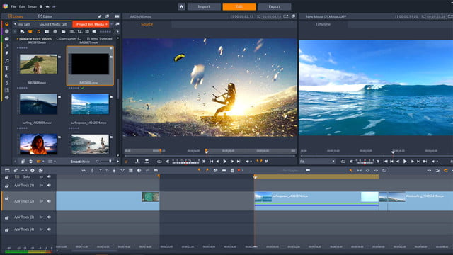 pinnacle studio 22 announced plus and ultimate  three four point editing copy