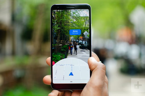 How To Navigate With The AR Mode In Google Maps   Digital Trends