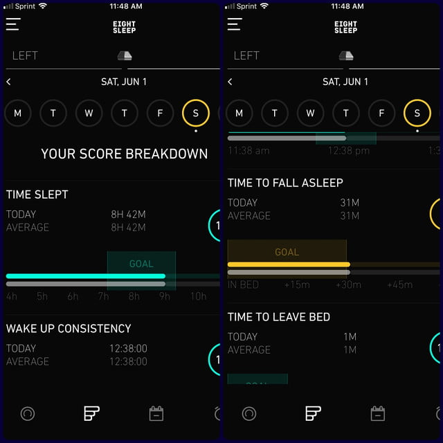 eight sleep pod review app 4