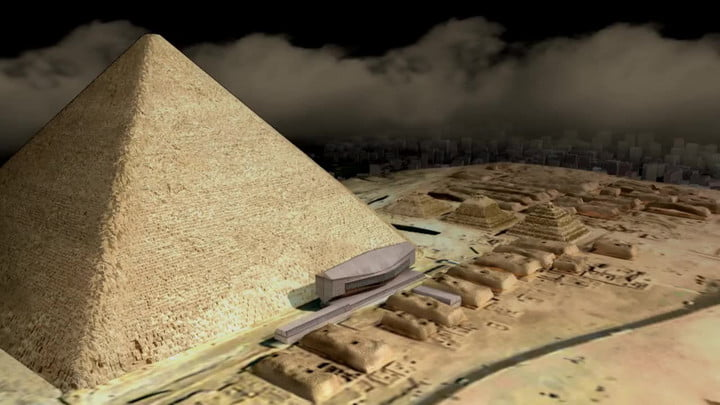 The tech that revealed a hidden chamber inside Egypt's Great