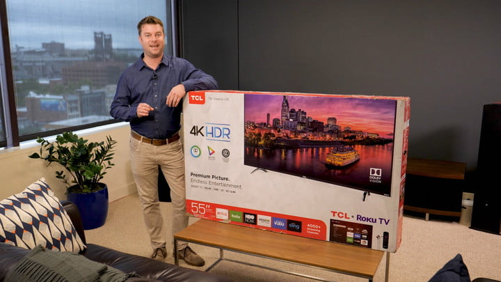 TCL P-Series TV Unboxing and Setup: Video Guide | Digital Trends