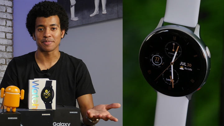 Samsung Galaxy Watch Active 2 Hands-on Review: ECG and LTE
