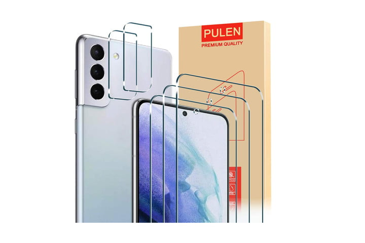 Pulen Screen and Camera Lens Protector for Samsung Galaxy S21 Plus