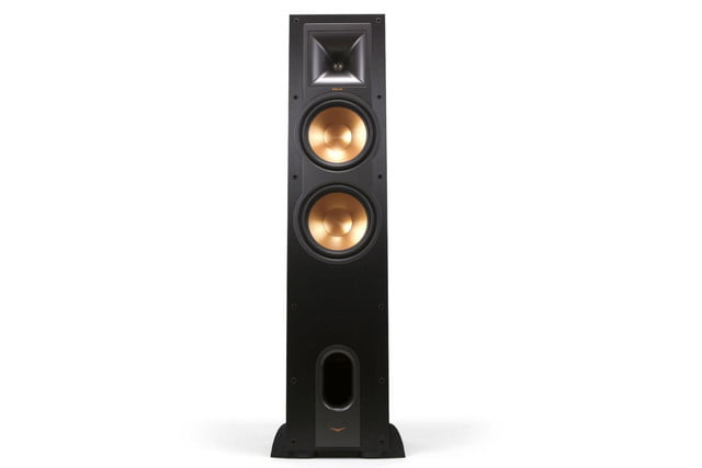 klipsch unveils stockpile new speakers reference home theater line r 28f front