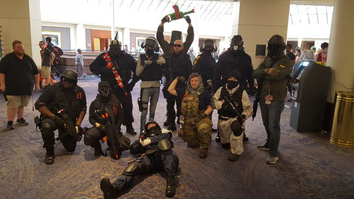 Police warn Raleigh locals of military cosplay at Rainbow Six Siege tournament