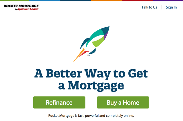 quicken loans rocket mortgage approves you in eight minutes site