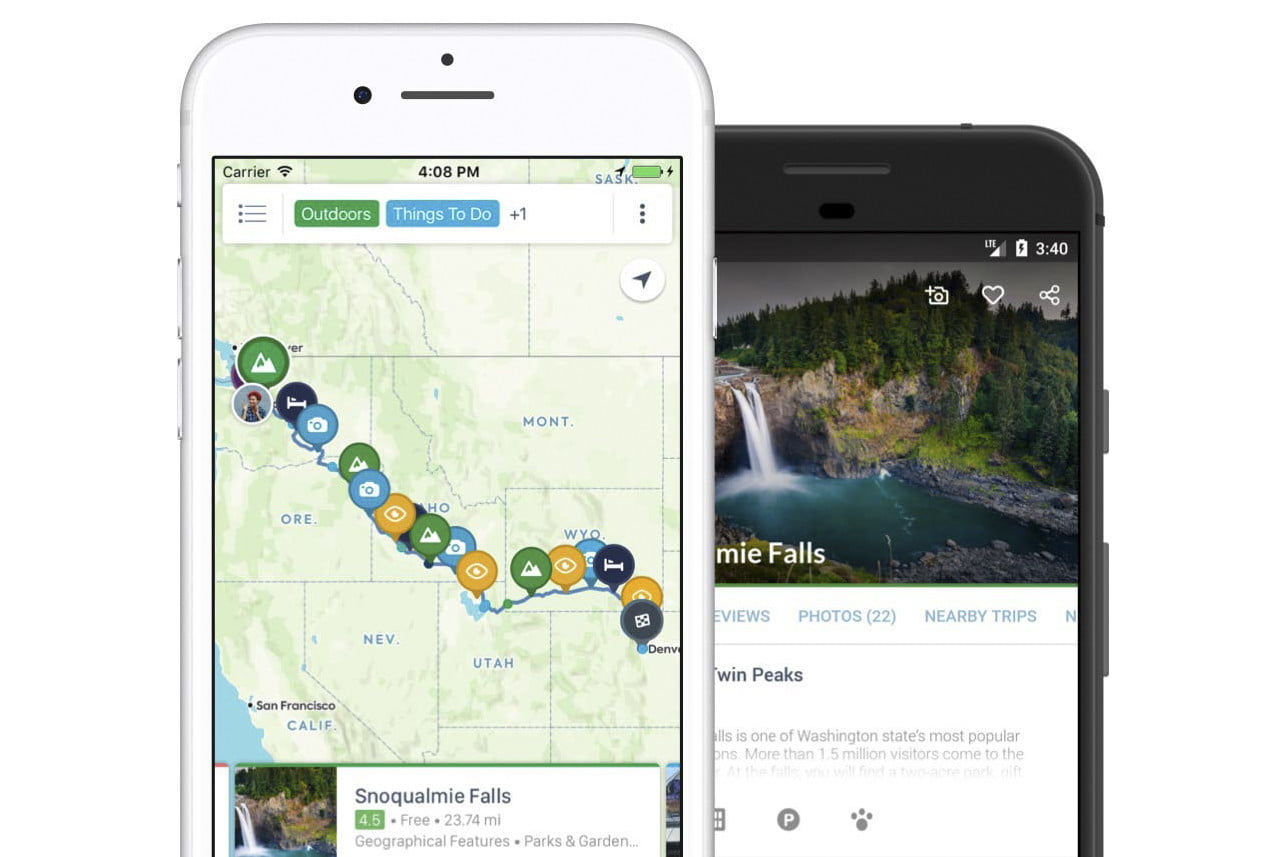 The Best Road Trip Planner Apps | Digital Trends Map A Trip App on map wedding, map travel, map project,