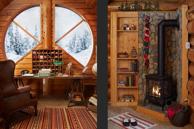 zillow lists and shows off home of santa 2 santas house bedroomone 041