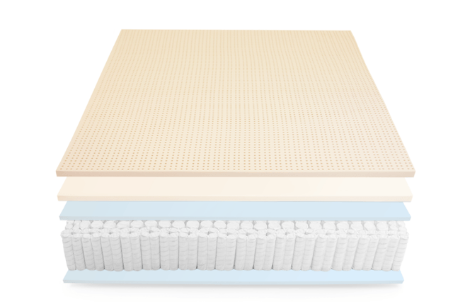 leesa introduces its luxury sapira mattress in a box exploded