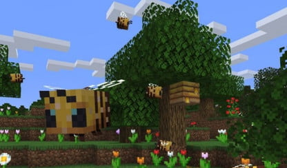 Bees Are All the Buzz in the Latest Minecraft Java Edition