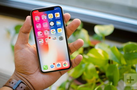How to take a screenshot on an iPhone X and newer models