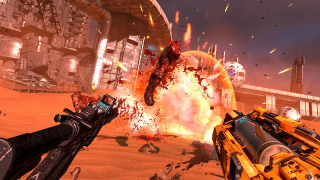 serious sam vr brings frantic fps action to oculus htc vive the last hope 0003