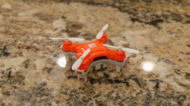 skeye nano camera drone video review 3