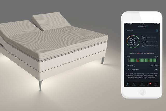sleep number 360 smart bed ces 2017 2