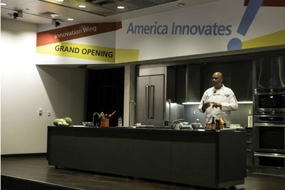 The Smithsonian Demo Kitchen Mixes Food And History