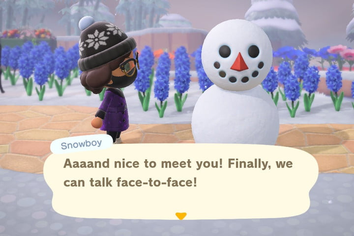 Snowboy Animal Crossing New Horizons