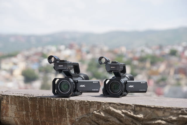 Sony Camcorder PXW-Z90 and HXR-NX80