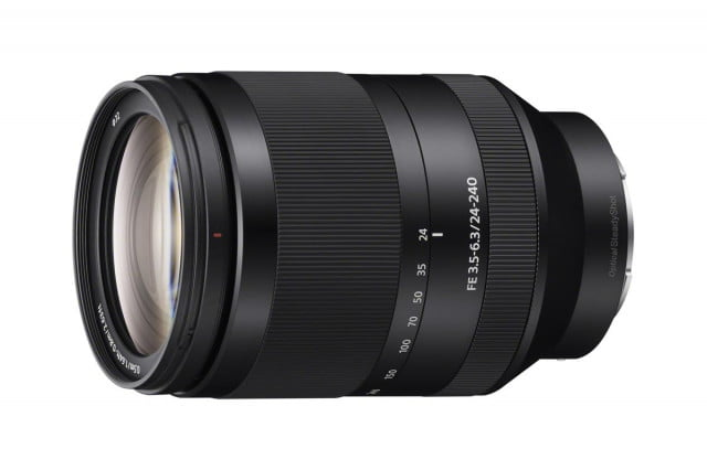 sony strengthens full frame a7 cameras with new macro and zoom lenses sel24240 a