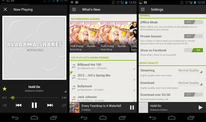 Spotify for Android 4 0 impressions: One of the best music