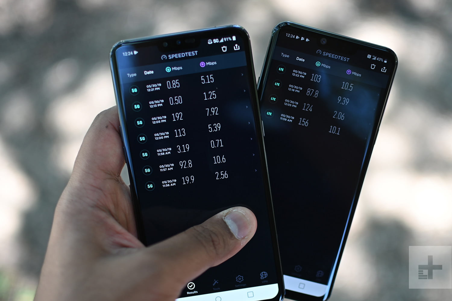 Testing Sprint's 5G With The LG V50 ThinQ and HTC 5G Hub