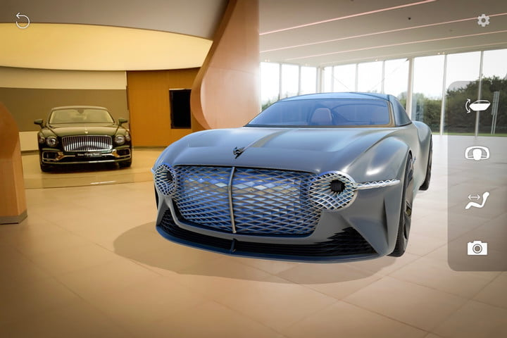 Bentley EXP 100 GT concept gets its own augmented-reality app