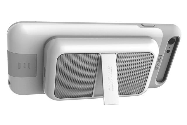 get stackeds new audio solutions and rid of all your wires for the iphone stacked boost speaker 12