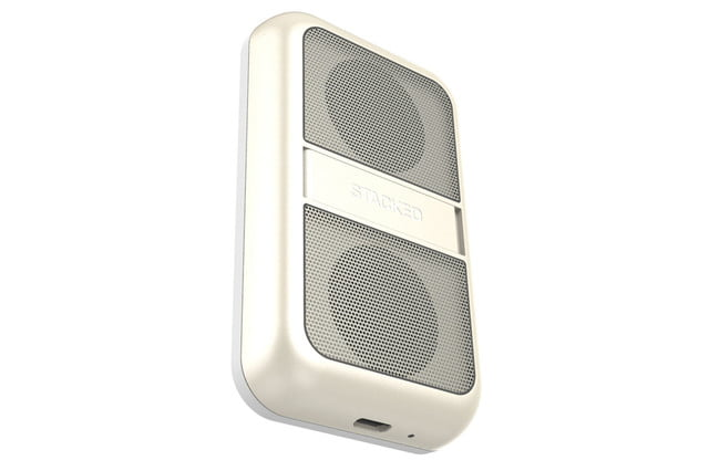 get stackeds new audio solutions and rid of all your wires for the iphone stacked boost speaker 3