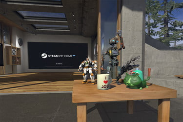 SteamVR Adds Game Collectibles For Decorating Your VR Home