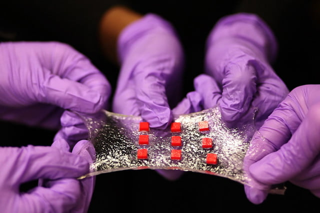 bandage of the future hydrogel delivers medicine automatically stretchable electronics 1 0