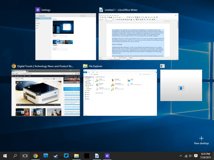 A Guide To Windows 10's Task View And AeroSnap Features