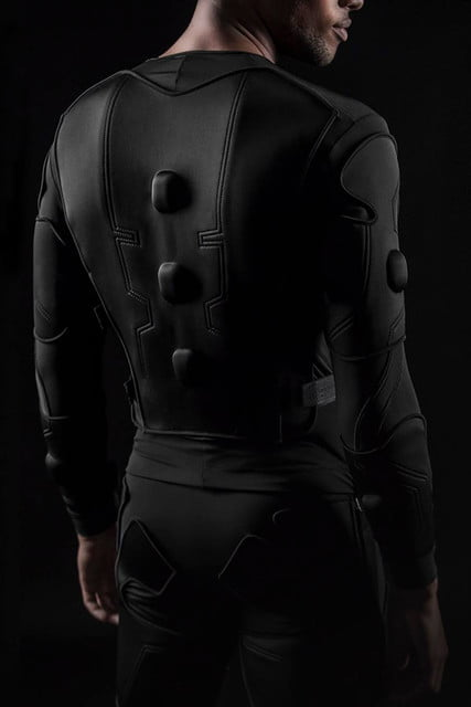 teslasuit full body haptic feedback ces 2018 14