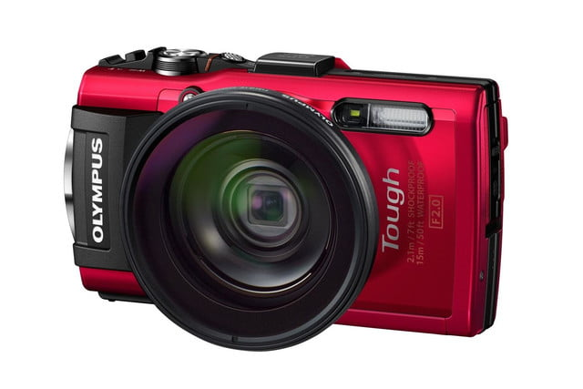 olympus tg 4 is first rugged compact to shoot uncompressed raw photos red add1