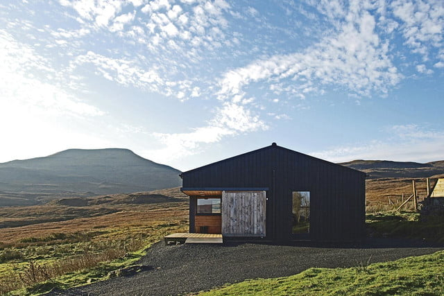 retreat from society and relax in these idyllic cabins around the world black shed 1