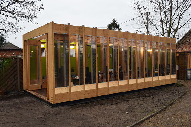 a hydraulic greenhouse rises off the ground during floods that grows legs  bat studio 9
