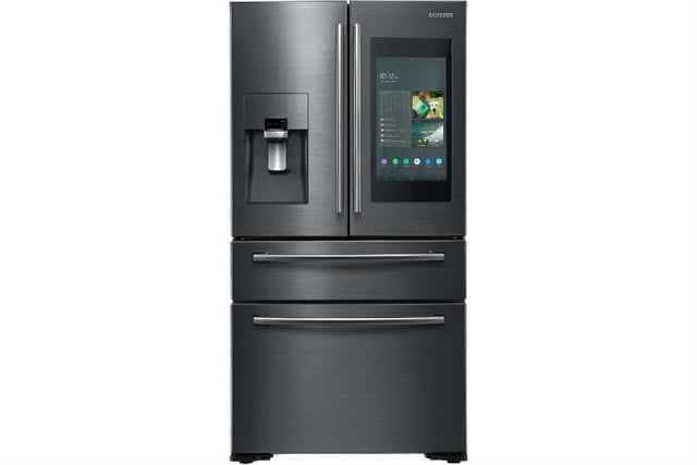samsung introduces champagne and tuscan appliance finishes the new family hub refrigerator