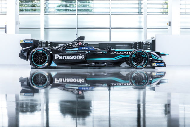 Jaguar I-Type 1 Formula E car