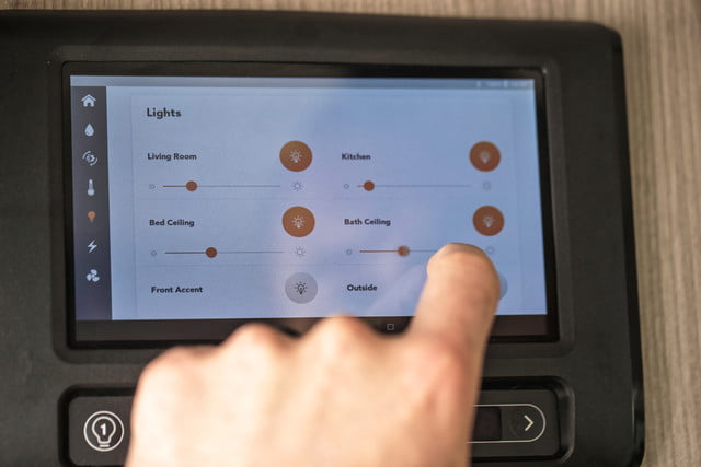 take your tech on the road with thor sequence smart class b rv motorcoach 6