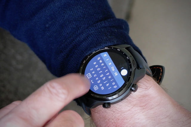 mobvoi ticwatch 3 pro review keyboard