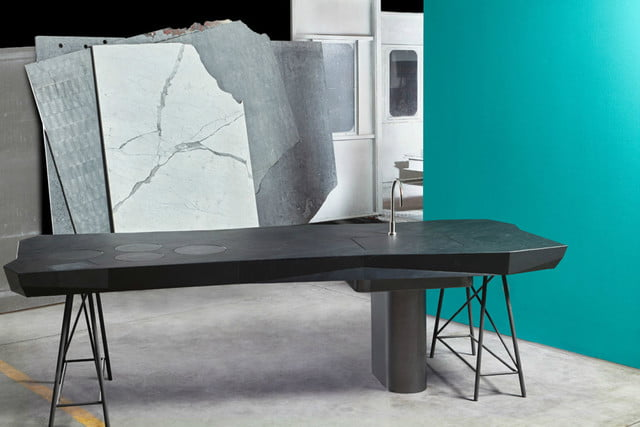 three badass kitchens from milan design week tipic offmat smart table