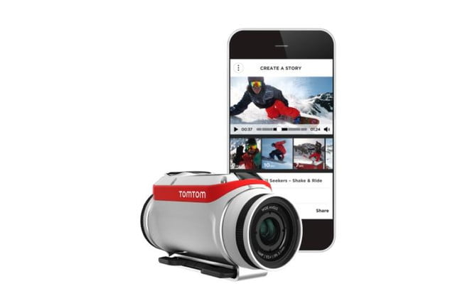 tomtoms latest gadget wont give you directions but will capture action sports tomtom bandit 6