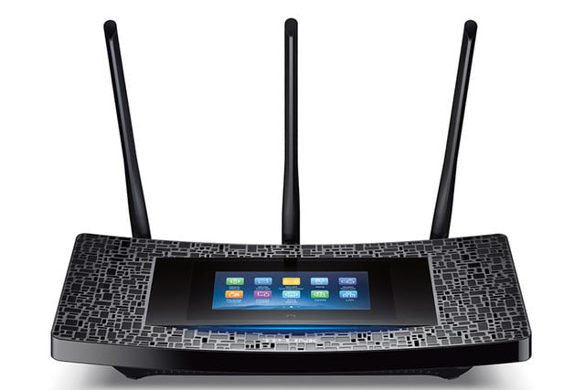 tp link brings user friendly touchscreen latest router touchp501