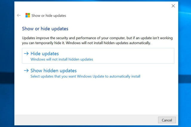 microsoft quietly releases utility to let insiders filter out automatic updates updatefilter hideorshow