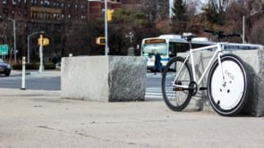 evelo omni wheel e bike attachment by