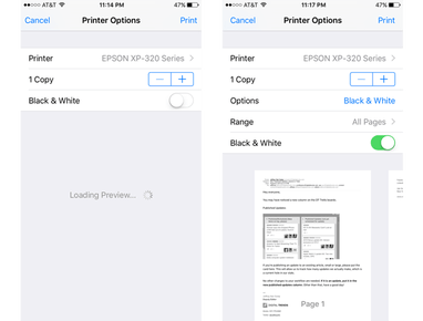 How to Print From Your iPhone or iPad | Digital Trends