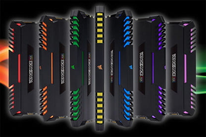 Corsair's Colorful New Vengeance RGB DDR4 Memory Kits Are
