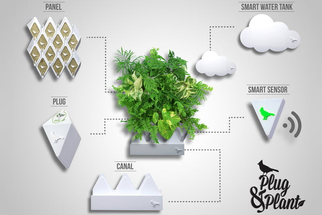 plug and plant is an easy to grow vertical garden green 001