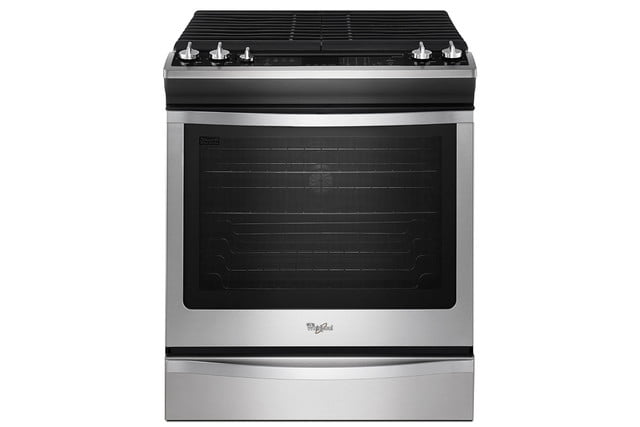 whirlpools smart appliances work with nest and amazon dash whirlpool connected front control range  p140087 13z