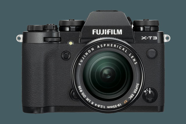 fujifilm unveils x t3 mirrorless camera with new sensor and processor black front xf18 55mm