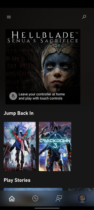 how to use xbox game streaming on android note 20 2