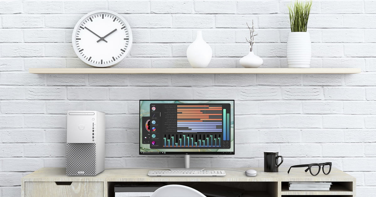 The redesigned Dell XPS desktop is smaller, faster, and much prettier